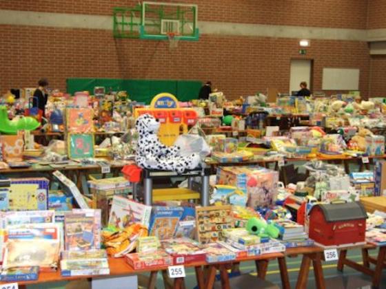 Tweedehandsbeurs van speelgoed - Rommelmarkt