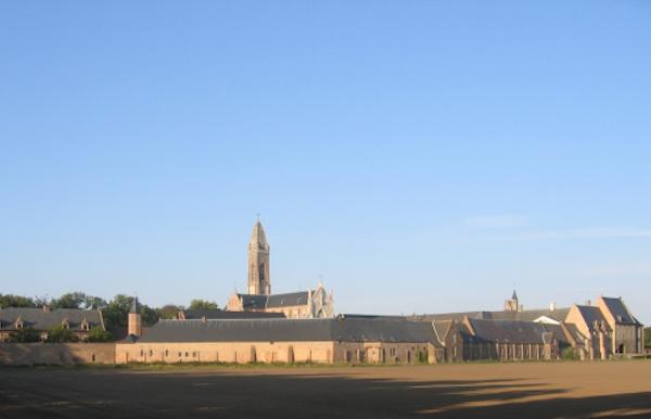 Op stap met een gids in de abdij