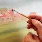 Vrij schildersatelier