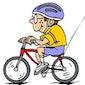 Fietstocht geoefende fietsers