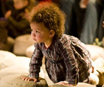 Klankenbad: muzikale dialogen voor kinderen van 0 tot 3 jaar