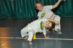 Abadá Capoeira for kids and teens