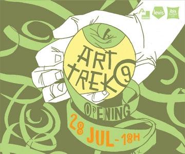 Art Trek 9 - expo voor internationale illustratieve kunst