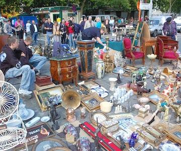 Rommelmarkt: Steenbekestraat, Kardinaal Mercierlaan, Vogelhoekstraat, Pinquinstraat, Henri Vandaelestraat