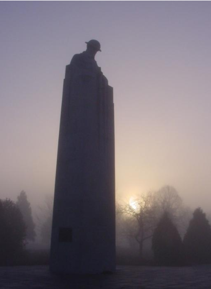 Evenement Canadees Monument , Poelkapelle Langemar