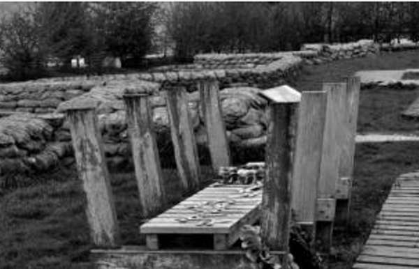 Yorkshire Trench and dug-out