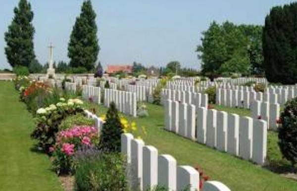 New Irish Farm Cemetery