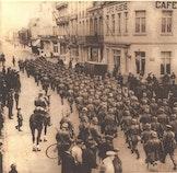 Blankenberge en Uitkerke bezet. 1914 - 1918