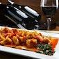 Deg.:pastagerechten met aangepaste Italiaanse wijn
