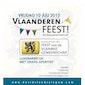 Vlaanderen Feest ter gelegenheid van 11 juli !