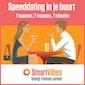 Special speeddate edition en party at Carré
