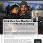 Dirk Van Der Maelen over de wereld in oorlog