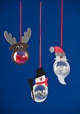 Schitterende Kerstfiguren