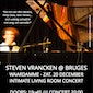 Steven Vrancken @ Bruges - Intimate Living Room Concert