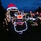 Tractor Kerstlicht Parade