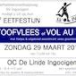 Eetfestijn SV Ingooigem: stoofvlees of vol-au-vent