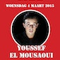 Youssef El Mousaoui – try out nieuwe show 2015