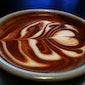 Latte Art in bistrot d' Amour in bibliotheek Scharpoord