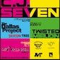 C.J.Seven E.P. voorstelling in de Klinker Club Aarschot