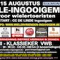 VWB semiklassieker Halle-Ingooigem voor wielertoeristen