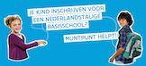 Je kind inschrijven voor een Nederlandstalige basisschool? Muntpunt helpt!