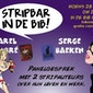 Stripbar in de bib van Mol