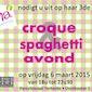 Croque- & spaghetti-avond - Femma Asse-Terheide