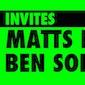 Oliver Alex invites Matts Brouns & Ben Solar