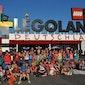 Leute in Legoland - Blaubeuren (Duitsland)