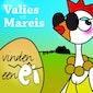 Valies en Mareis vinden een ei
