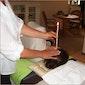 Oormassage + workshop: oorkaarsen