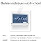 Infosessie 'Inschrijven via I-school'