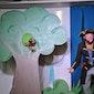 Piratenshow met (buik)sprekende dieren