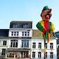 Plaatsen carnavalsmascotte - traditie van Hendrik
