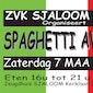 Spaghetti-avond ZVK Sjaloom
