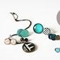 Juwelen met glazen rondjes