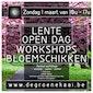 Workshops bloemschikken - lente open dag