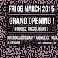 Grand Opening New Club in town! INTERGALACTIC GARY & J-ERROR