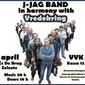 J-Jag band in harmony with Vredekring