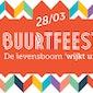 Wijk uit Buurtfeest - rommelmarkt - eetfestijn - animatie