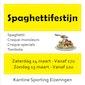 Spaghetti en croquefestijn Sporting Eizeringen