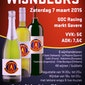 Wijnbeurs KFC Gavere-Asper: 7 maart 2015