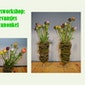 Voorjaars Workshop bloemen schikken Gezinsbond