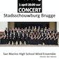 San Marino High School Wind Ensemble concert Stadsschouwburg Brugge