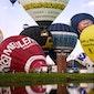Ballonhappening en Kinderstad