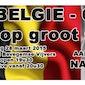 België - Cyprus op reuze scherm !