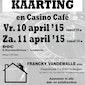 Meerkeuze kaarting en casino café