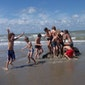 Strand op stelten