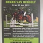 20ste Editie Beker Van Herselt - Pony en Paarden tornooi 24 en 25 mei 2015!
