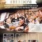 Freedom Concert - Groot Nederlands Jongerenkoor op vrijdag 1 mei om 20u45 in de Sint-Maartenskathedraal Ieper